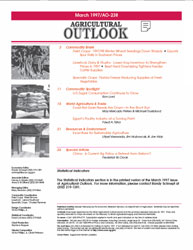 Agricultural Outlook : January-February ... Volume Issue January-February 1997 by Usda