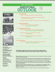 Agricultural Outlook : May 1997 Volume Issue May 1997 by Usda