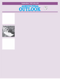 Agricultural Outlook : September 1997 Volume Issue September 1997 by Usda
