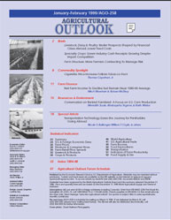 Agricultural Outlook : January-February ... Volume Issue January-February 1999 by Usda