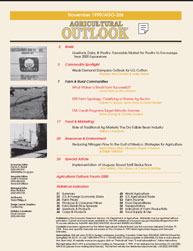 Agricultural Outlook : November 1999 Volume Issue November 1999 by Usda