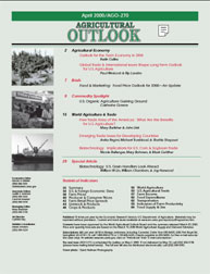 Agricultural Outlook : April 2000 Volume Issue April 2000 by Usda