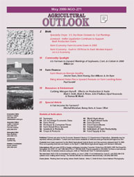 Agricultural Outlook : May 2000 Volume Issue May 2000 by Usda