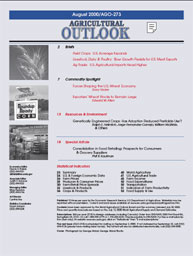 Agricultural Outlook : August 2000 Volume Issue August 2000 by Usda