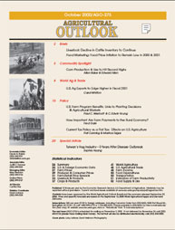Agricultural Outlook : October 2000 Volume Issue October 2000 by Usda