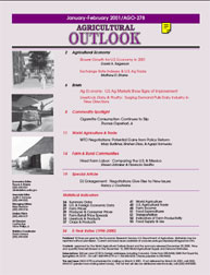 Agricultural Outlook : January-February ... Volume Issue January-February 2001 by Usda