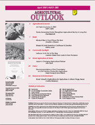 Agricultural Outlook : April 2001 Volume Issue April 2001 by Usda
