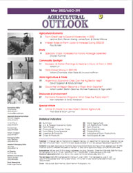 Agricultural Outlook : May 2002 Volume Issue May 2002 by Usda