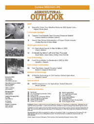 Agricultural Outlook : October 2002 Volume Issue October 2002 by Usda