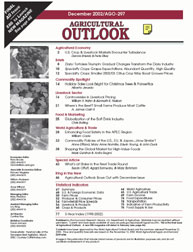 Agricultural Outlook : December 2002 Volume Issue December 2002 by Usda