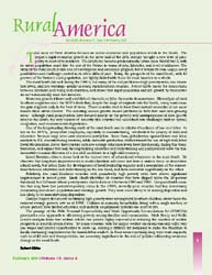 Rural America; Volume 15, Issue 4; March... by Bowers, Douglas