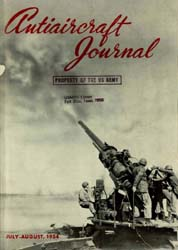 Antiaircraft Journal : July-August 1954 Volume 97, Issue 4 by Brady, Colonel W. I.