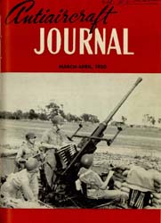 Antiaircraft Journal : March-April 1950 Volume 93, Issue 2 by Brady, Colonel W. I.