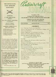 Antiaircraft Journal : May-June 1949 Volume 92, Issue 3 by Brady, Colonel W. I.