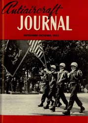 Antiaircraft Journal : September-October... Volume 95, Issue 5 by Brady, Colonel W. I.