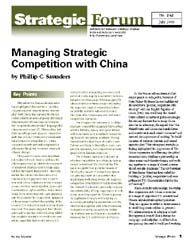 Center for Strategic Research (Csr) Stra... Volume Strategic Forum 242 by Saunders, Phillip C.