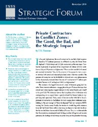 Center for Strategic Research (Csr) Stra... Volume Strategic Forum 260 by Hammes, T. X.