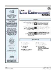 Fbi Law Enforcement Bulletin : April 200... by Raffel, Robert