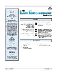 Fbi Law Enforcement Bulletin : August 20... by Johns, Leonard