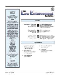 Fbi Law Enforcement Bulletin, August 200... by Krause, Meredith