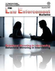Fbi Law Enforcement Bulletin, December 2... by Dreeke, Robin