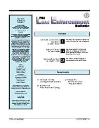 Fbi Law Enforcement Bulletin : May 2004;... by Nasson, Jason