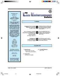 Fbi Law Enforcement Bulletin : November ... by Casey, James