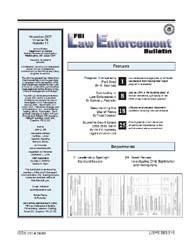 Fbi Law Enforcement Bulletin : November ... by Lee, Dean