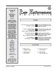 Fbi Law Enforcement Bulletin : November ... by Wolfer, Loreen