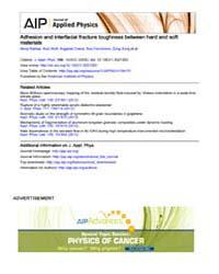 Journal of Applied Physics : Adhesion an... Volume Issue : November 2008 by Nima Rahbar, Kurt Wolf, Argjenta Orana, Roy Fennim...
