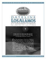 Dateline : Los Alamos; December 1999 Volume December 1999 by Coonley, Meredith