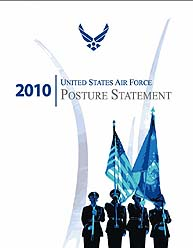 Usaf Posture Statement : 2010 by Donley, Michael B.