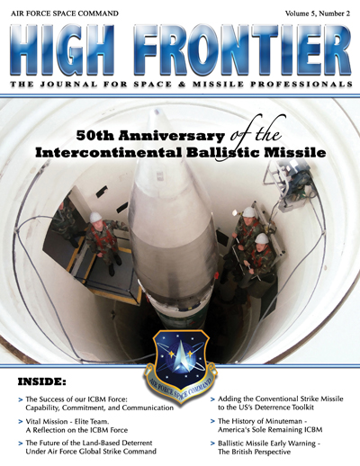 High Frontier Journal : 50Th Anniversary... by Adams, Lt. Col Marcella