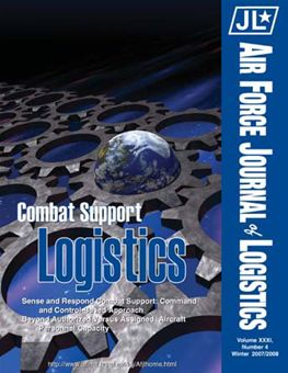 Air Force Journal of Logistics : 2006 Volume 31, Issue 4 by Rainey, James C.