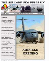 Air Land Sea Bulletin : January 2007 Volume Issue 1 by Waggener, Bea