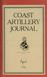 Coast Artillery Journal; April 1926 Volume 64, Issue 4 by Clark, F. S.