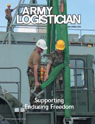 Army Logistician; May-June 2002 Volume 34, Issue 3 by Heretick, Janice W.