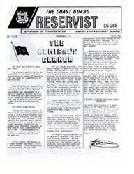 The Reservist Magazine : Volume 21, Issu... by Coast Guard, United States