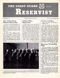 The Reservist Magazine : Volume 3, Issue... by Coast Guard, United States