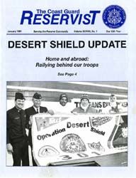 The Reservist Magazine : January 1991 by Kruska, Edward J.