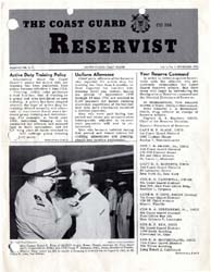 The Reservist Magazine : Volume 1, Issue... by Coast Guard, United States
