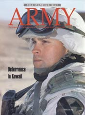 Army Magazine : January 2002 Volume 52, Issue 1 by French, Mary Blake