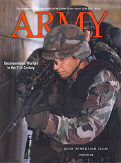 Army Magazine : July 2001 Volume 51, Issue 7 by French, Mary Blake