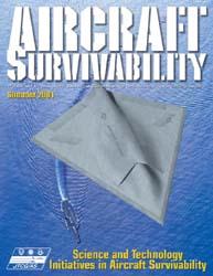 Aircraft Survivability Journal : Summer ... Volume Summer 2001 by Lindell, Dennis