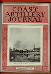 Coast Artillery Journal; January-Februar... Volume 75, Issue 1 by Bennett, E. E.