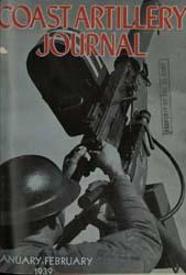 Coast Artillery Journal; January-Februar... Volume 82, Issue 1 by Bennett, E. E.