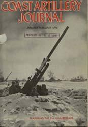 Coast Artillery Journal; January-Februar... Volume 91, Issue 1 by Bradshaw Jr., Aaron