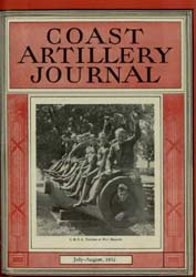 Coast Artillery Journal; July-August 193... Volume 75, Issue 4 by Bennett, E. E.