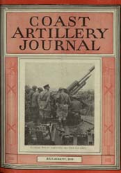 Coast Artillery Journal; July-August 193... Volume 78, Issue 4 by Bennett, E. E.