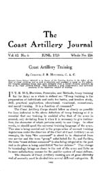 Coast Artillery Journal; June 1925 Volume 62, Issue 6 by Clark, F. S.